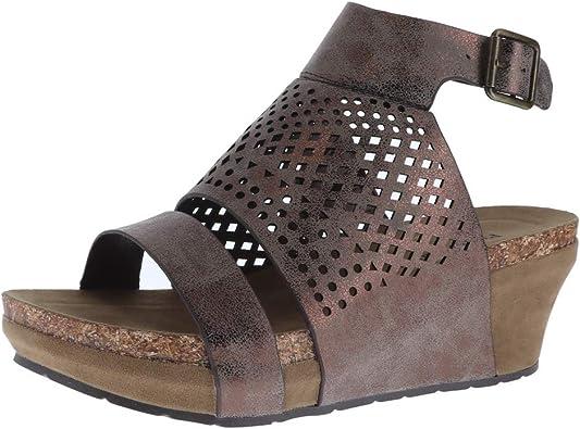 Pierre Dumas Chantal-3 Sandals, Bronze