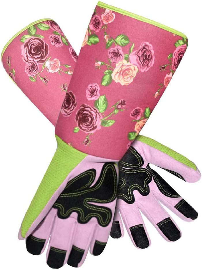 Long Sleeve, Thornproof Gardening Gloves from Megawodar