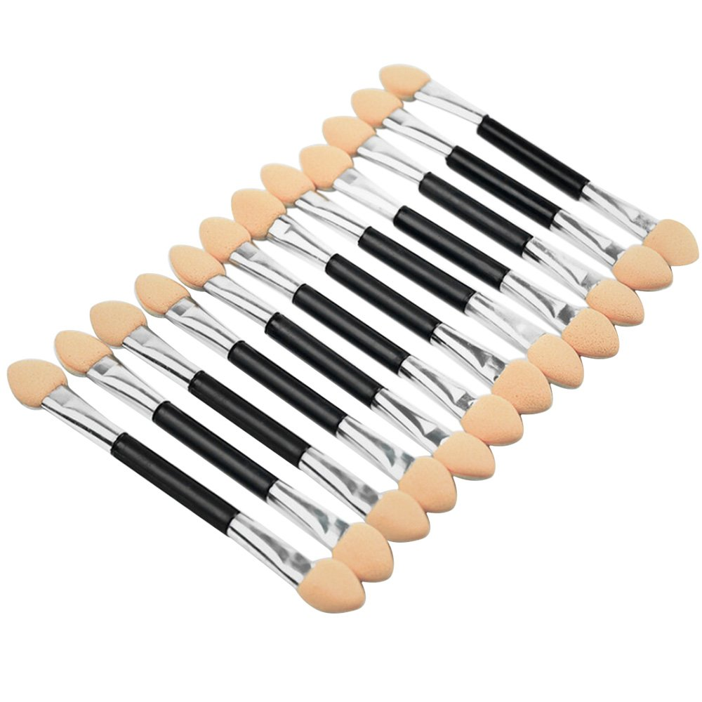 Sanwood 12x Makeup Double-End Eye Shadow Sponge Brushes Applicator Cosmetic Beauty Tool