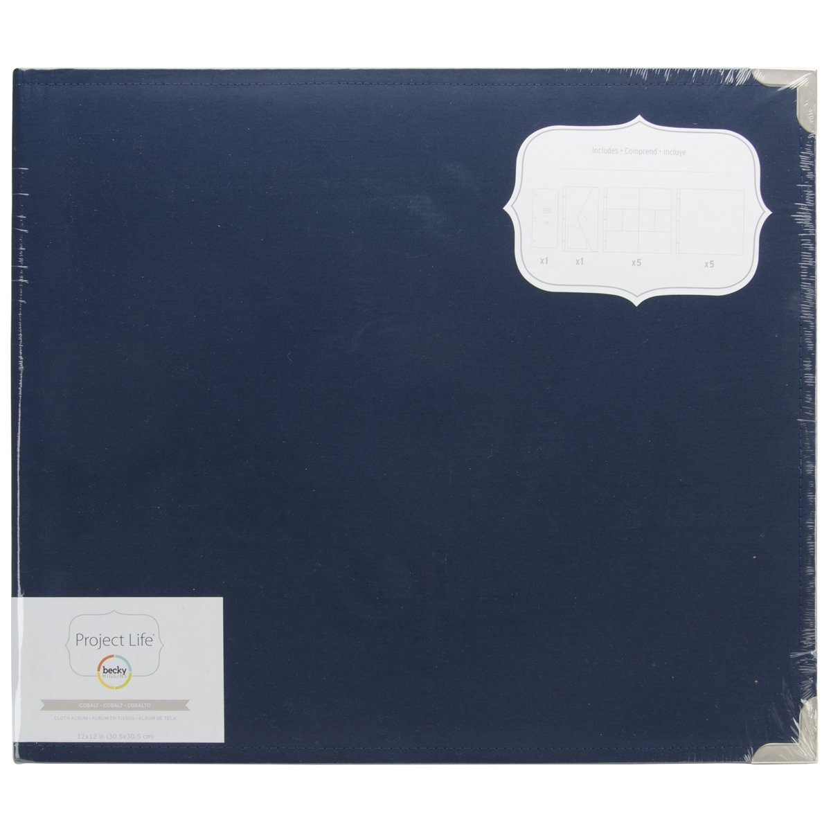 American Crafts Project Life Cloth D-Ring album,, 37.84 x 33.27 x 7.11 cm 380196