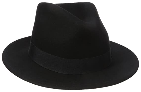 Henschel Men s 100% Wool Felt Big Fedora 62debecd61e
