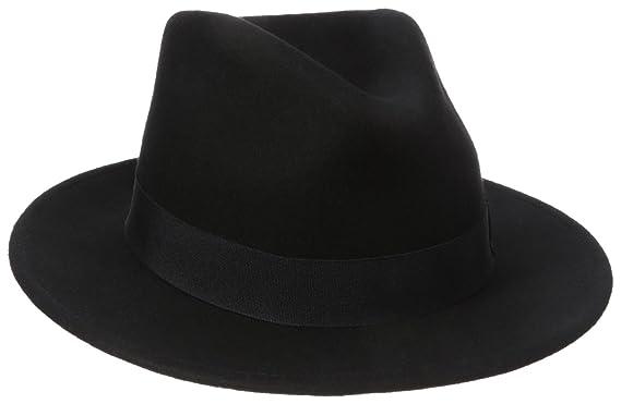 Henschel Men s 100% Wool Felt Big Fedora b64aa0c8a67
