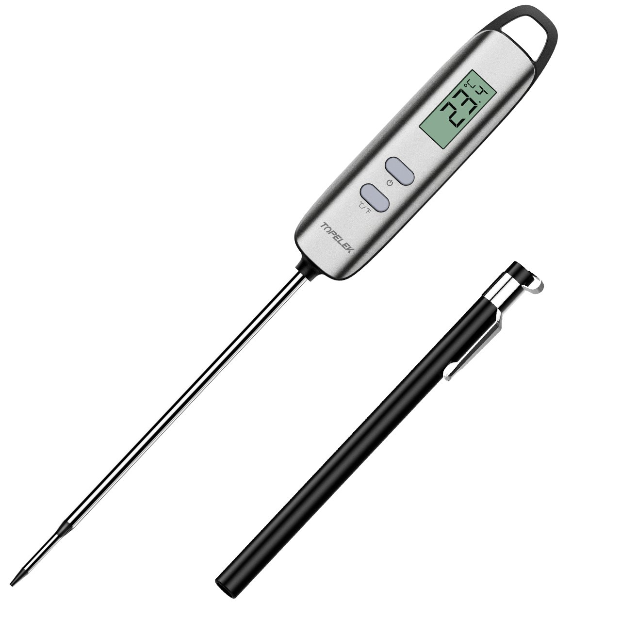 Topelek Bratenthermometer Grillthermometer im Test