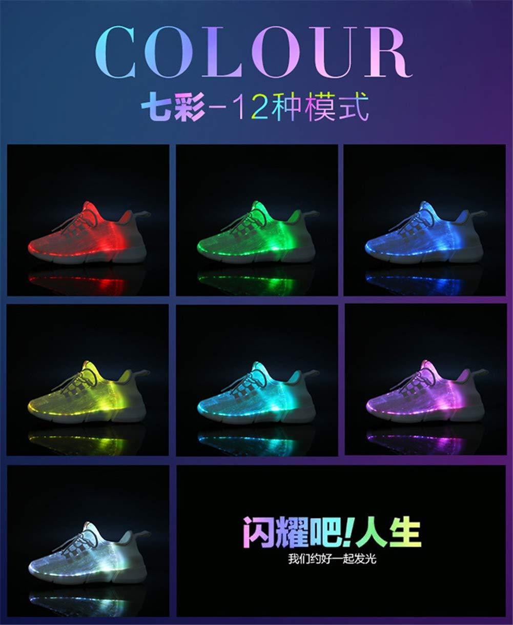 Liebhaber Schuhe, 2019 LED-Lichtschuhe Man damen ' S Casual Casual Casual schuhe USB Charging Farbeful Flash Schuhe Glowing schuhe,Weiß,35 B07NMSLDNZ Sport- & Outdoorschuhe Schnäppchen c083e1