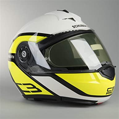 SCHUBERTH Moto Casco C3 Pro – Casco Observer Yellow