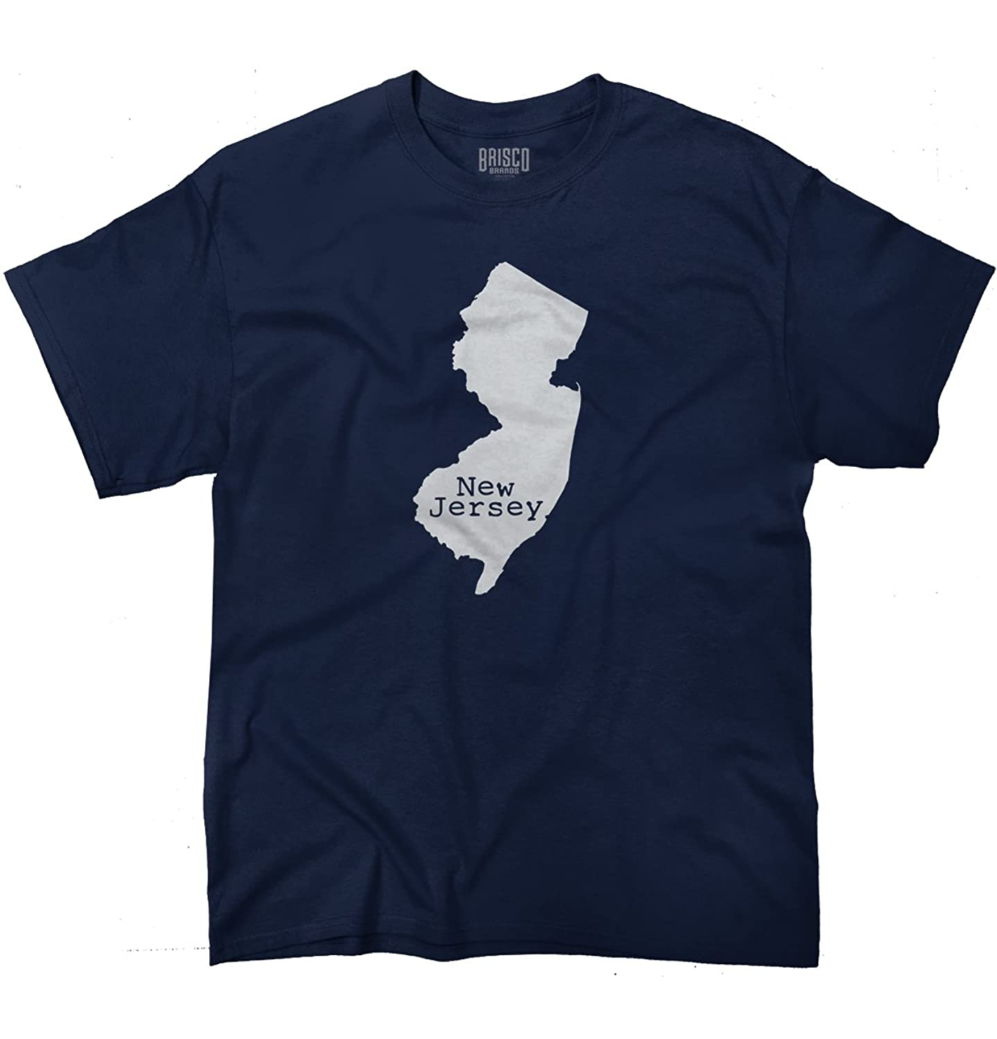 New Jersey State Shirt State Pride USA T Novelty Gift Ideas T-Shirt Tee