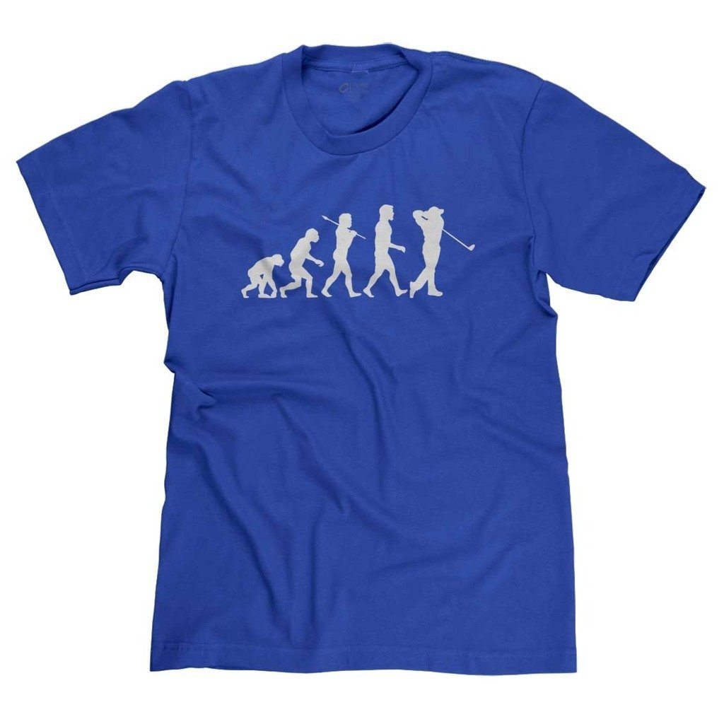 Evolution Of Golfer Funny Golfer T Shirt 7267