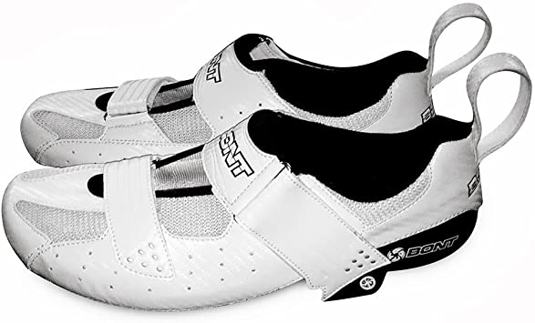 Bont Riot TR – Zapatillas de triatlón la Calor moulable Road – Zapatillas de Ciclismo, Color Blanco Blanco Blanco Talla:40 EU: Amazon.es: Deportes y aire libre