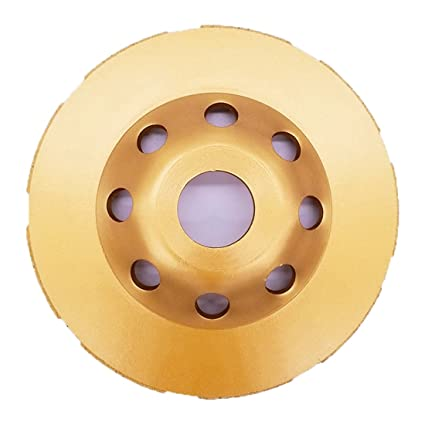 Pierre APLUS Meule Abrasive Universal /à Poncer B/éton 115 x 22,2 Pour B/éton Brique Disque Diamant 115 mm /à Meuler B/éton Granit Ma/çonnerie