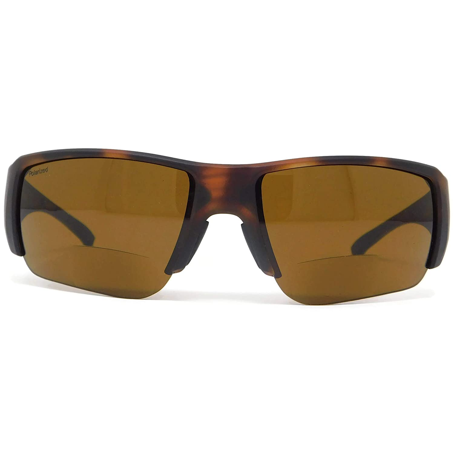 2.5 Bifocal Sunglasses Matte Havana Polarized Brown Smith Captains Choice