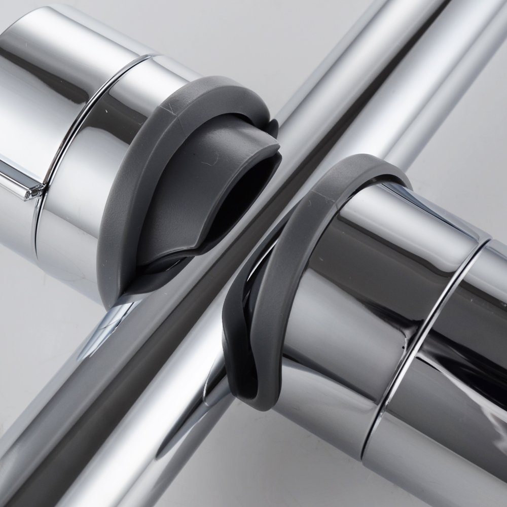 ABS 18-25 mm Verstellbar Brausehalter Duschhalterung KES Handbrause Halterung PB4