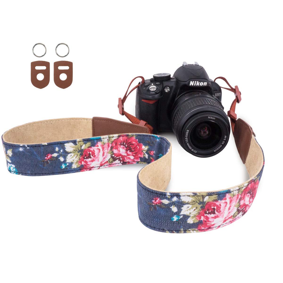 "Quick Rapid Shoulder Neck Strap C Belt Camera DSLR Canon Nikon Sony Olympus 1-4/"""