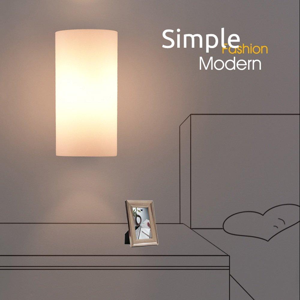 Noilyn  E24 Japanische Glaswandlampen Nordische Moderne Minimalistische  Wandleuchte Beleuchtet Badezimmer Spiegel Front Beleuchtet ...
