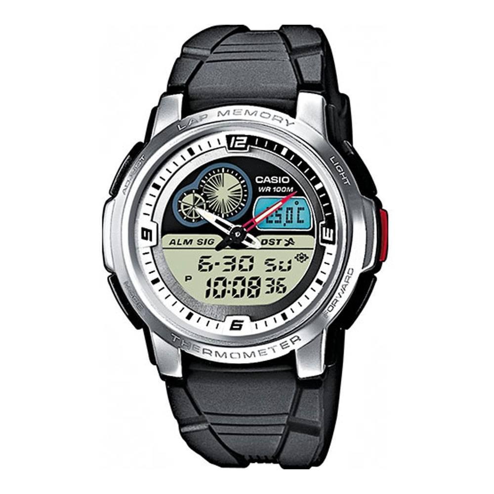 amazon com casio aqf 102w 7bvef mens moontide thermometer sports rh amazon com Acer Aspire 4738 Playtexfits 4738