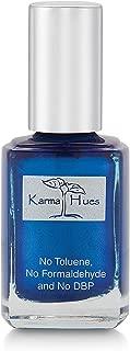 product image for Karma Organic Natural Nail Polish-Non-Toxic Nail Art, Vegan and Cruelty-Free Nail Paint (Sapphire Beach)