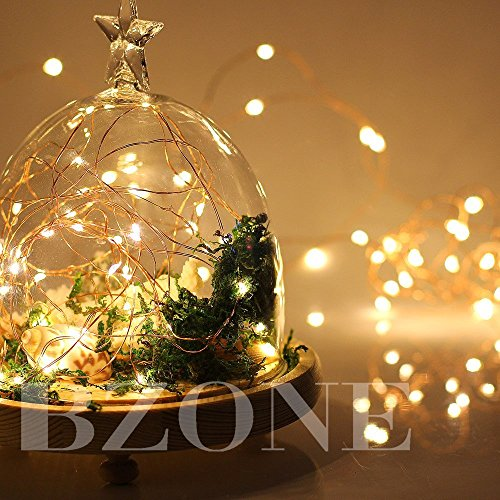 20 Amp Wire Size >> BZONE Led Tiny Micro Battery String Lights Copper Wire Bedroom Fairy Light(20 LEDs, Warm White ...
