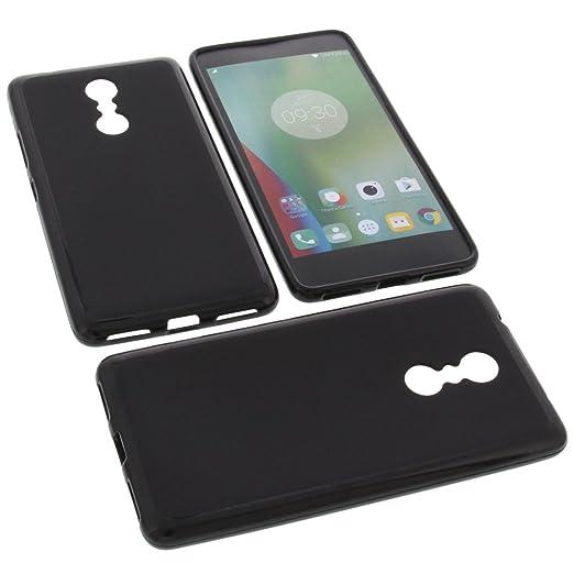 8 opinioni per Custodia per cellulari Lenovo K6 Note in gomma TPU di colore nero