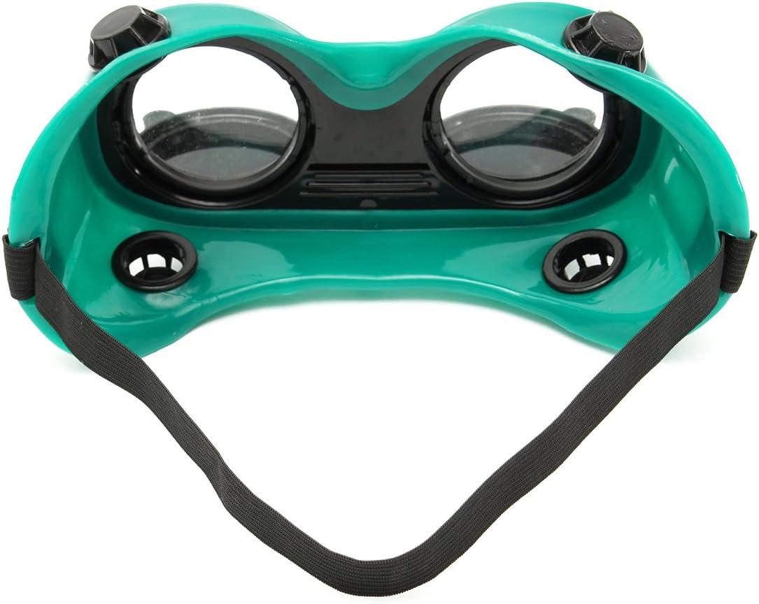 KUNSE Flip Up Anti Glare Glasses Welders Welding Glasses Welding Goggles