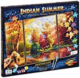 Schipper 609260650 Indian Summer Triptychon Paint By Numbers Board by Schipper
