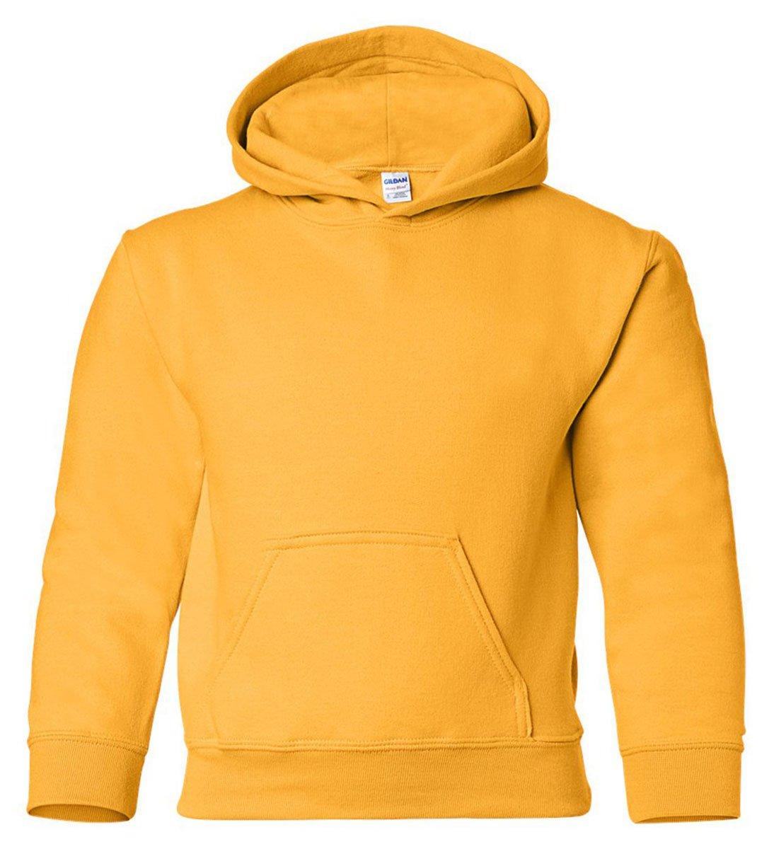 Gildan 18500B Heavy Blend Youth Hooded Sweatshirt M25236