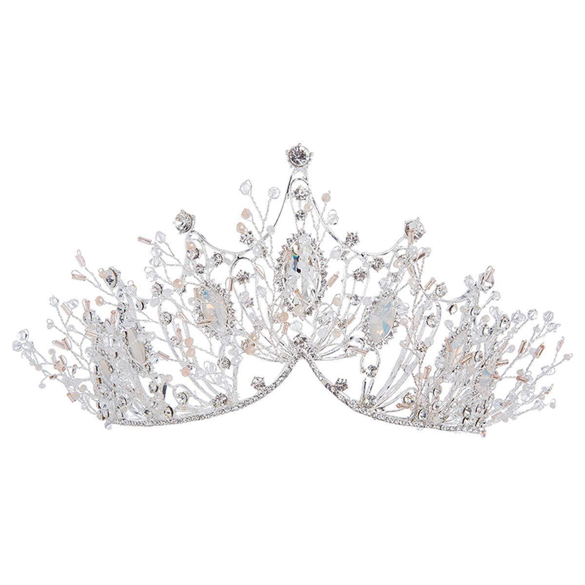 Girls Crown, Beautiful headdress/Bridal Crown Accessories Crown 2 Wedding Accessories by Zehaer (Image #1)