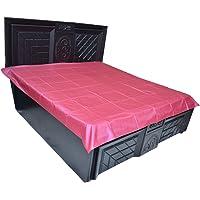 Kuber Waterproof PVC Double Mattress Protector, Pink, Standard, KMTMA0006