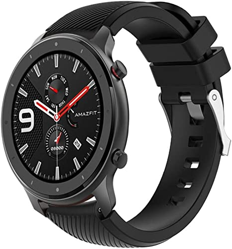 Amazon.com: Compatible for Huami AMAZFIT GTR 47mm Soft ...