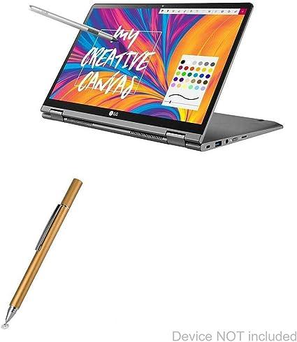 14T990 EverTouch Capacitive Stylus Stylus Pen - Jet Black Fiber Tip Capacitive Stylus Pen for LG Gram 14 2-in-1 LG Gram 14 2-in-1 14T990 BoxWave
