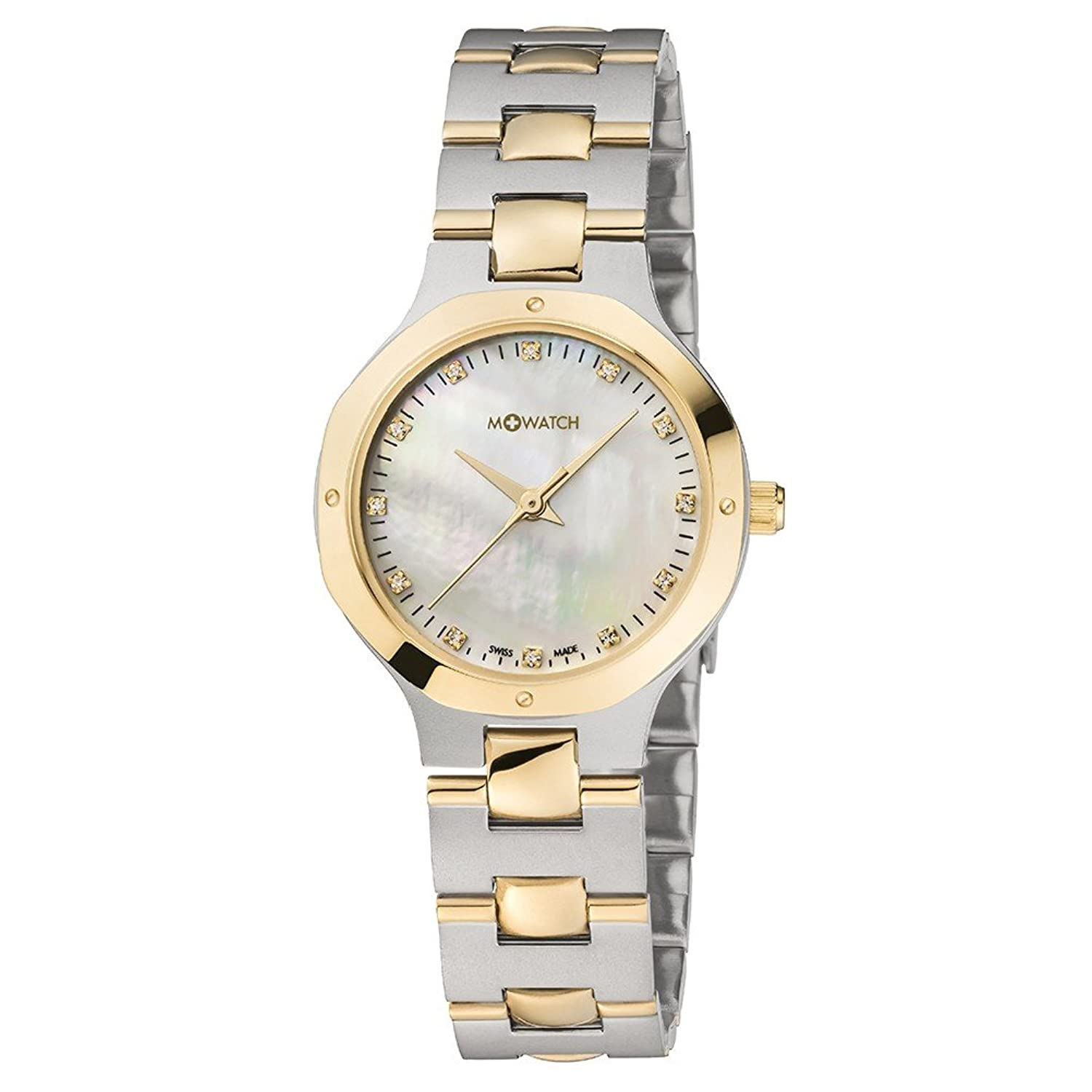 M-WATCH Damen-Armbanduhr Metal Classic Analog Quarz WRT.48110.SU