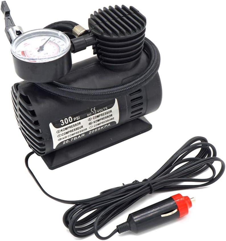 Wagtail Mini compresor de Aire-Mini compresor de Aire portátil Bomba infladora de neumáticos eléctrica Coche de 12 voltios 250 PSI