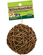 Ware Manufacturing Willow Branch Ball for Small Animals - 4-inch