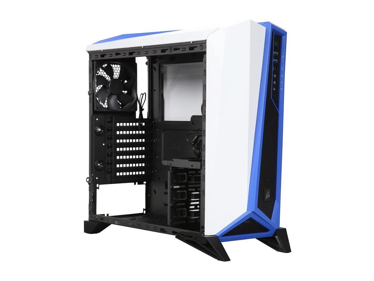 Corsair Carbide Spec Alpha Mid Tower Gaming Case Color Ssd 850 Evo 25ampquot Sata Iii 250gb Mz 75e250b Am White Blue Model Cc 9011093 Ww Computers Accessories