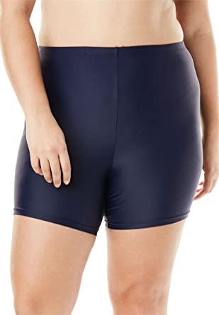 026f5965ac Swimsuitsforall Women's Plus Size Swim Boy Short at Amazon Women's Clothing  store: