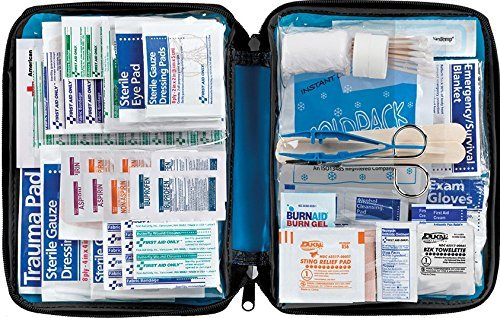 First Aid Only All Purpose First Aid Kit Soft Case With Zipper 299 Piece Kit
