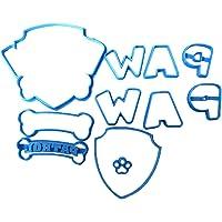 Cuticuter Paw Patrol Fondant Schneider, blauw, 8 x 7 x 1,5 cm