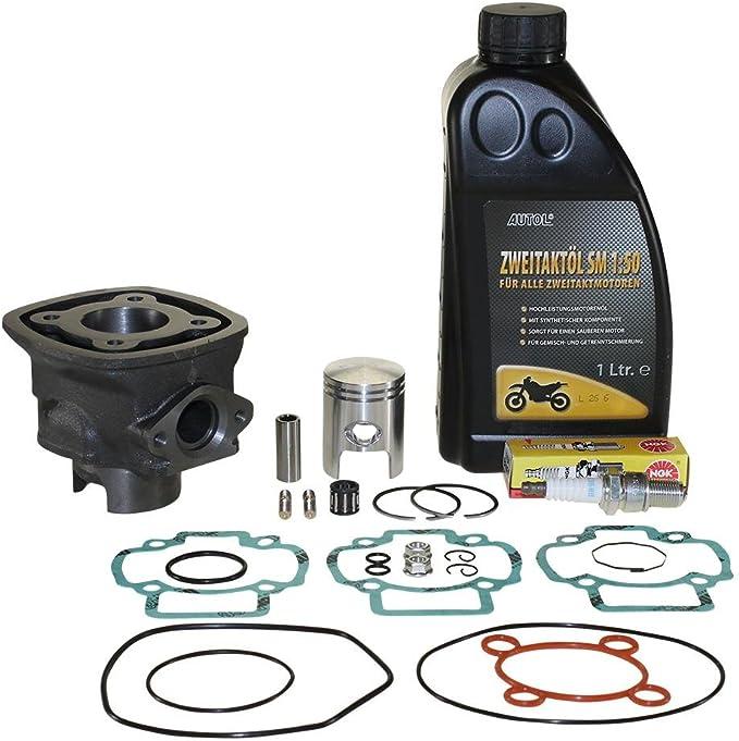 Zylinder Komplett Set Piaggio Lc 50ccm 4 Eckig Für Piaggio Zip Auto