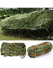 Yaheetech 5m x 1.5m/16.4 x 5 ft Army Camouflage Net Camo Net Hunting Hide, Shooting Hide,Camping Shelters