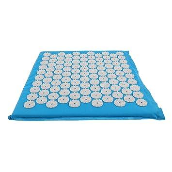 Amazon.com: dailymall Acupressure Massager Mat Yoga Pad ...