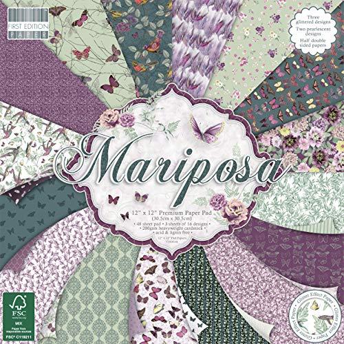- First Edition Mariposa Premium Paper Pad 12