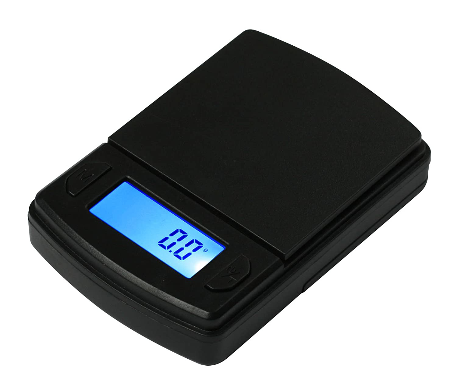 Fast Weigh MS-600 Digital Pocket Scale, Black, 600 X 0.1 G American Weigh Scale MS-600-BLK