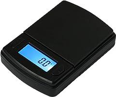 Fast Weigh MS-600 Digital Pocket Scale, Black, 600 X 0.1 G