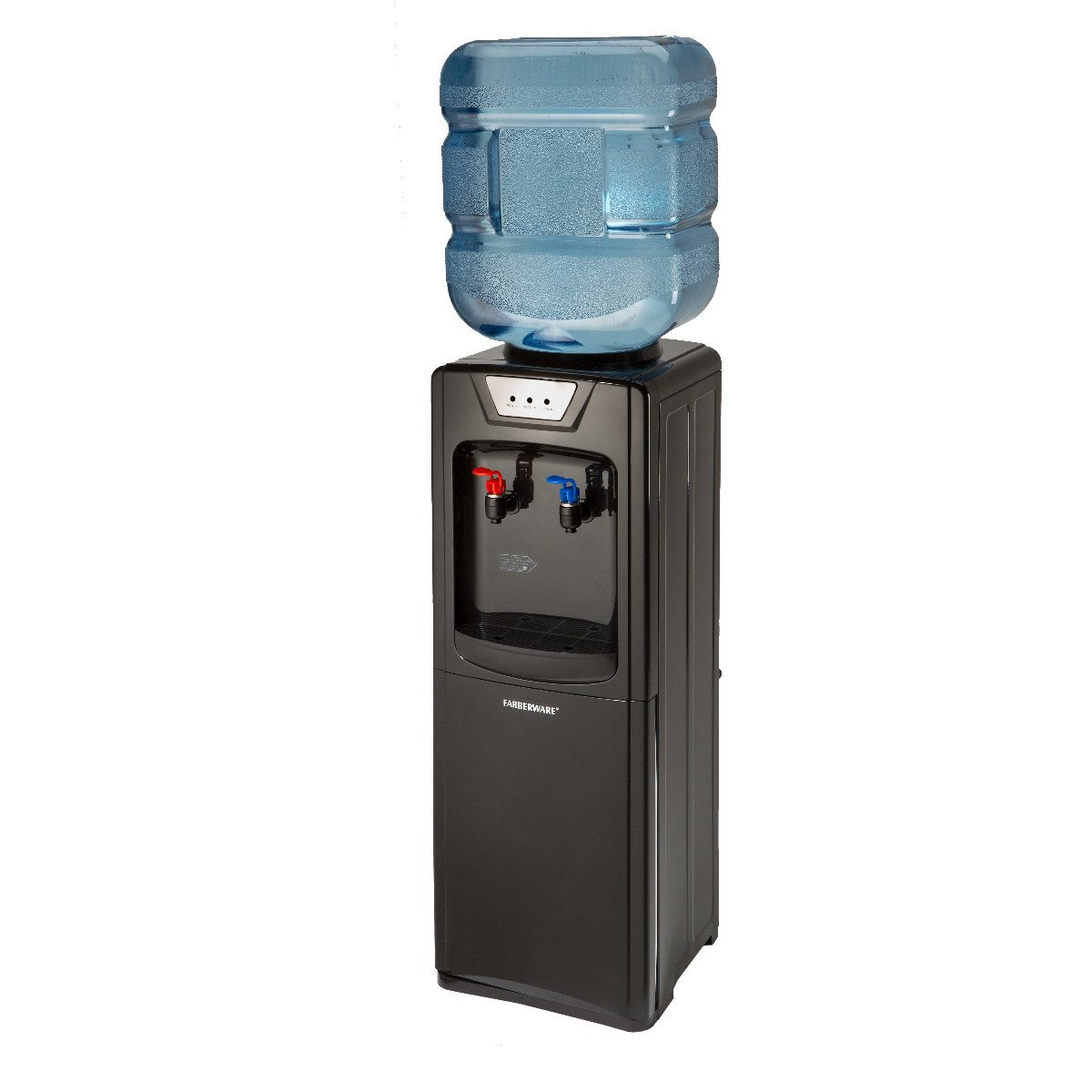 Exceptional Water Cooler Storage #13 - Farberware FW29919 Freestanding Hot And Cold Water Cooler Dispenser, Black  - - Amazon.com