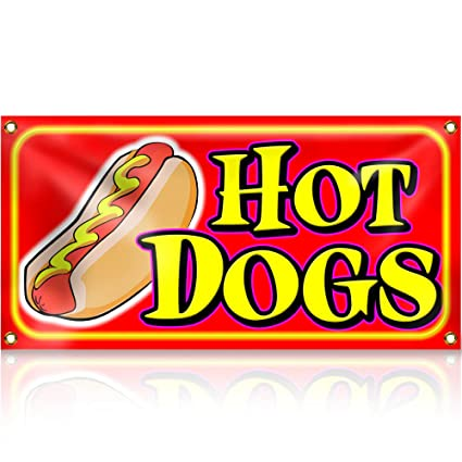 Cartel de Hot Dogs: Amazon.es: Oficina y papelería