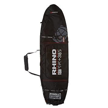 Rhino World Tour Wheeled - Bolsa para tabla de surf de 10 mm con