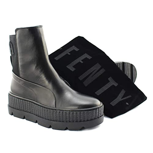 e4a683541673 Puma Chelsea Sneaker Boot Fenty Black  Amazon.co.uk  Shoes   Bags