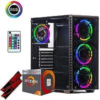 Pc gaming Ryzen 3 2200g / Cpu quadcore 3.70Ghz /Ssd 240 Gb /Ram 8Gb 3000mhz Ddr4 / Windows 10 pro / Pc pronto all'utilizzo/ entry level per fortinite - lol/ Pc desktop Computer gaming