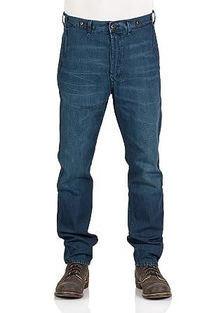 Lee Herren Worker Chino - Regular Fit - Blau - Jelt Dark  Amazon.de   Bekleidung acadc9c9a1