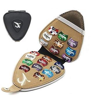 Amazon.com: Llavero con soporte para púas de guitarra ...