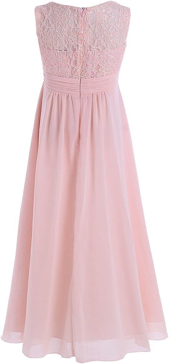 iiniim Big Girls Lace Flower Weddings Dress