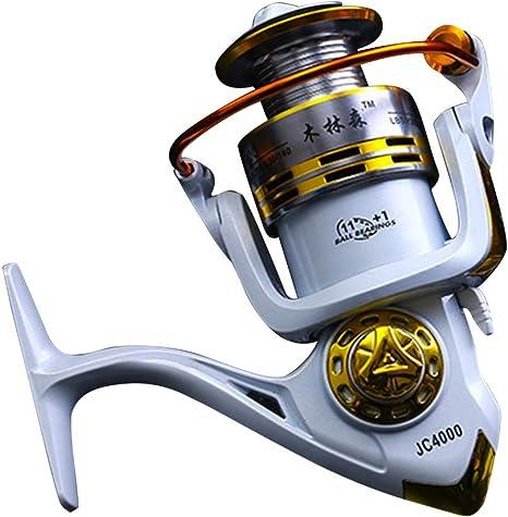 JESSIEKERVIN YY3 Spinning Fishing Reel 12 + 1 rodamientos ...